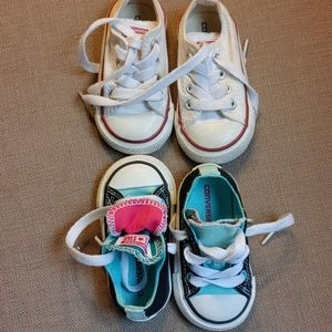 Converse shoes x 2